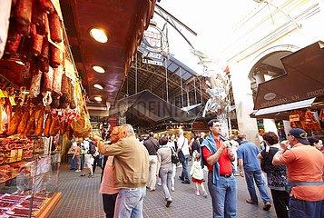 Barcelona  La Boqueria Markt
