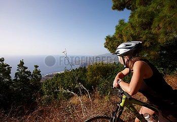 Fahrradtour mit Ausblick