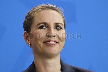Bundeskanzleramt Treffen Merkel Frederiksen
