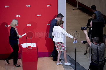 SPD  Schwesig  Schaefer-Guembel  Dreyer