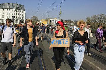No Miete gegen Mietenwahnsinn in Berlin