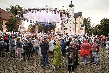 MDR TV-Aufzeichnung Die Schlager des Sommers-Die grosse Open Air Show aus dem Wasserschloss in Klaffenbach