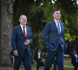 BM Scholz reist zum G7 Treffen der Finanzminister