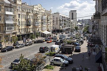 Stravüe in Kiew