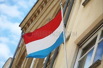 Fahne von Luxemburg