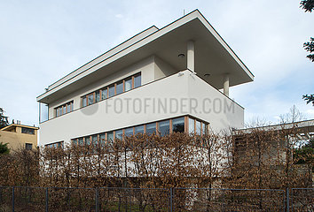 Haus 20a von Josef Gocar in der Werkbundsiedlung Prag