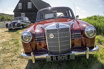 Oldtimer Mercedes Benz 180