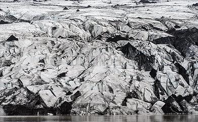 Gletscher Sólheimajökull
