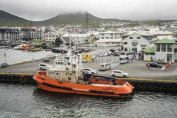 Boot am Hafen