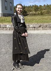 Frau im Tracht