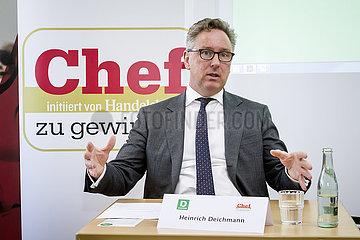 Handelsblatt-Veranstaltung Chef zu gewinnen mit Heinrich Otto Deichmann  Vorstandsvorsitzender des Verwaltungsrats der Deichmann SE