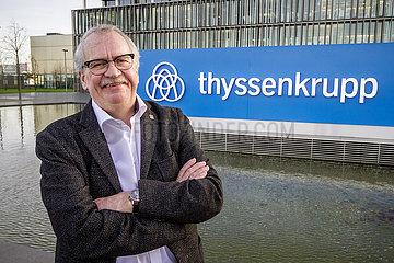 Wilhelm Segerath  ehemaliger Vorsitzender des Konzernbetriebsrat der ThyssenKrupp AG