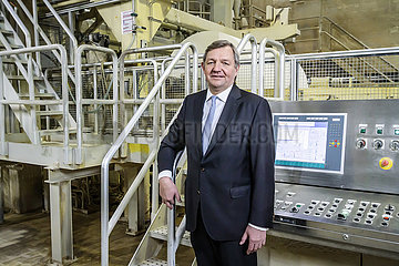 Martin Krengel  Vorstandsvorsitzender der WEPA Hygieneprodukte GmbH