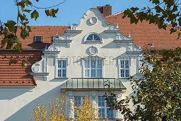 Berlin  Deutschland  Wohnbebauung im Bayrischen Viertel in Schoeneberg