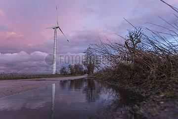 Windkraftanlagen im Naturpark Barnim - Brandenburg