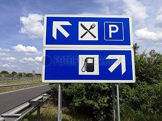 Autobahnraststaette