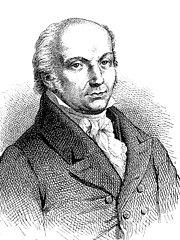 1758-1828 Franz Joseph Gall Deutsche Wissenschaftler