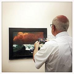 Emil Nolde exhibition Berlin  painting Breakers