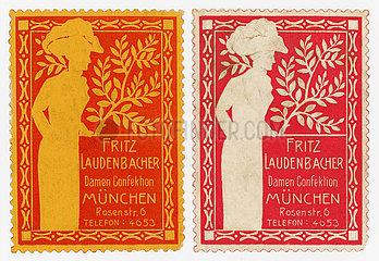 Damenmode  Modegeschaeft  Muenchen 1913