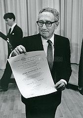 Henry Kissinger  Ehrendoktor  1988