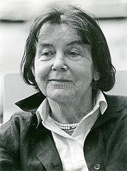 Luise Rinser  Portraet  1986