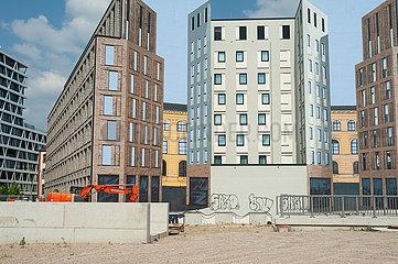 Berlin  Deutschland  Baugrundstueck Heidestrasse in der Europacity