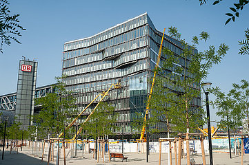 Berlin  Deutschland  Baustelle Buerogebaeude Cube Berlin am Washingtonplatz