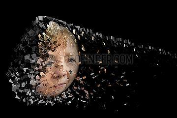 CGI Angela Merkel deconstructed