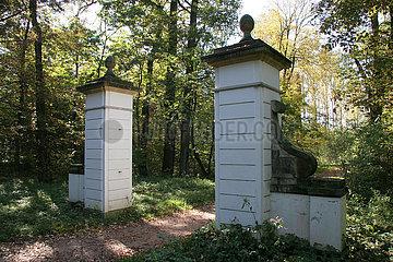 Der Sieglitzer Park - der unbekannte Teil des Gartenreiches Dessau- Woerlitz Der Sieglitzer Park - der unbekannte Teil des Gartenreiches Dessau- Woerlitz