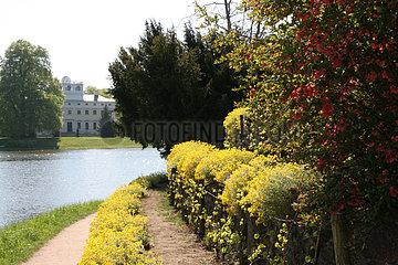romantischer Fruehling im Woerlitzer Park romantischer Fruehling im Woerlitzer Park