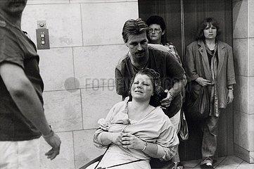 Einfuehrung DM  Berlin  1. Juli 1990