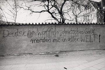 12. April 1991  Erfurt  Graffiti