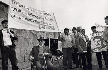 23. Maerz 1991  KZ Sachsenhausen  Opfer des Stalinismus