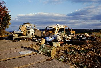 Oktober 1991  gehasster geliebter Trabant
