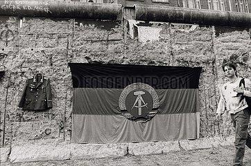 30. Juni 1990  Berlin  vor der Waehrungsunion