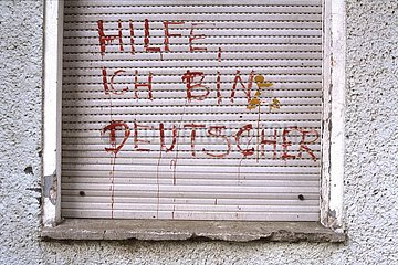 Januar 1991  Berlin  Graffiti