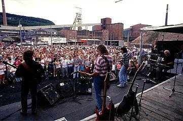 Juli 1993  Kalibergwerk Bischofferode