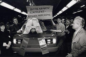 10. April 1991  Eisenach - der letzte Wartburg