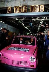 30. April 1991  der letzte Trabant