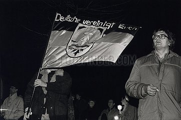 21. Dezember 1989  Erfurt  Anti- Stalin- Demonstration