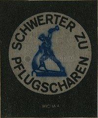 1981  Schwerter zu Pflugscharen