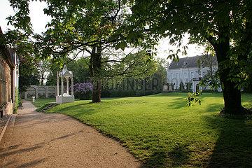 romantischer Fruehling im Woerlitzer Park