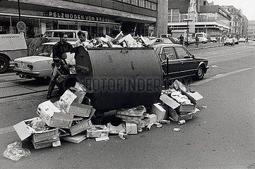 15. Juni 1990  Leipzig  Verramschung vor der Waehrungsunion