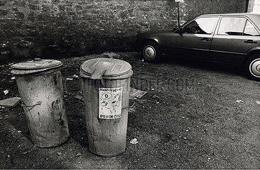 Maerz 1990  Erfurt  erste freie Volkskammerwahl