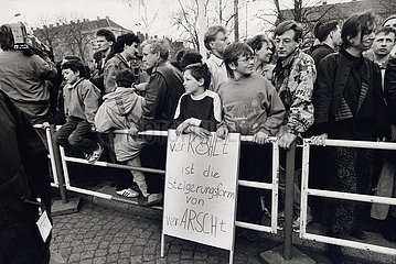 7. April 1991  Erfurt  Anti- Kohl- Anti- Kohl- Demonstration