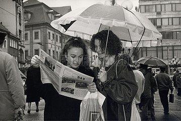 '22. Dezember 1989  Erfurt  ''nez - neue erfurter zeitung'''
