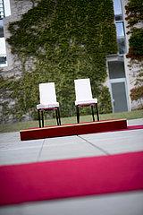 Chairs Angela Merkel