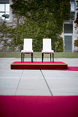 Chairs Angela Merkel