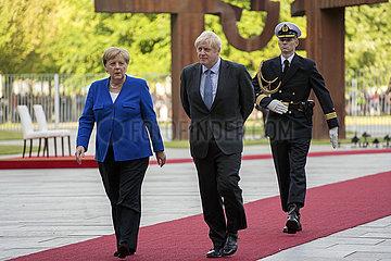 Merkel + Johnson