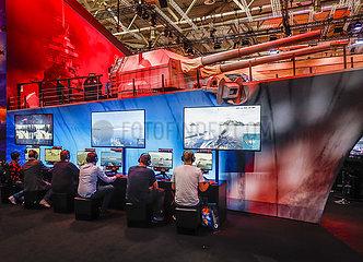 Messe Gamescom  Koeln  Nordrhein-Westfalen  Deutschland